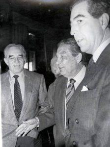 García Márquez y Octavio Paz-Archivo El Universal