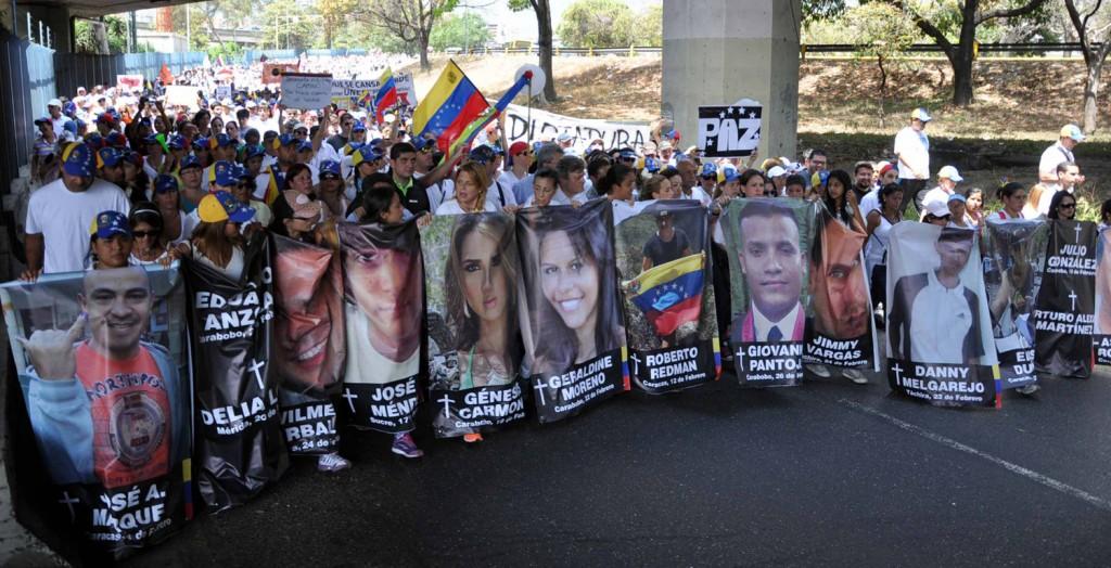 MARCHA POR LA VIDA EN VENEZUELA