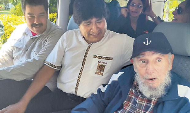 Maduro-Evo-Castro