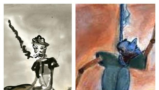 Una marioneta problema Sobre Pinocho, de Francisco Toledo