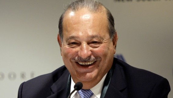 <span>Reading Carlos Slim</span>.  A look inside the library of one of the richest men in the world