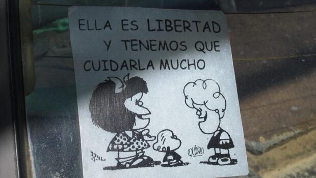 Mafalda y los días de la máscara
