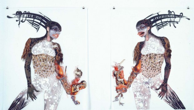Cyborg Consciousness in the art of Wangechi Mutu