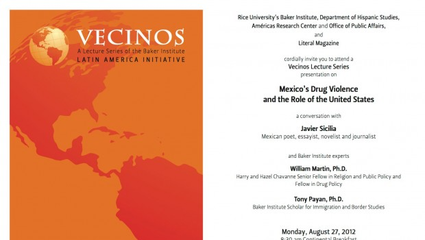Javier Sicilia: el papel de Estados Unidos en la guerra contra el narcotráfico