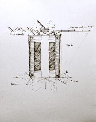 Primer dibujo de Ulises I de Edgar Cano (2011)