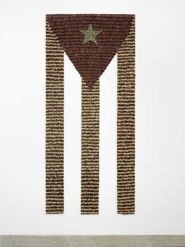 Tania Bruguera, Estadística (Statistics), 1995–2000, cardboard, human hair, and fabric, the Museum of Fine Arts, Houston, Museum purchase funded by the Caribbean Art Fund and the Caroline Wiess Law Accessions Endowment Fund. © Tania Bruguera
