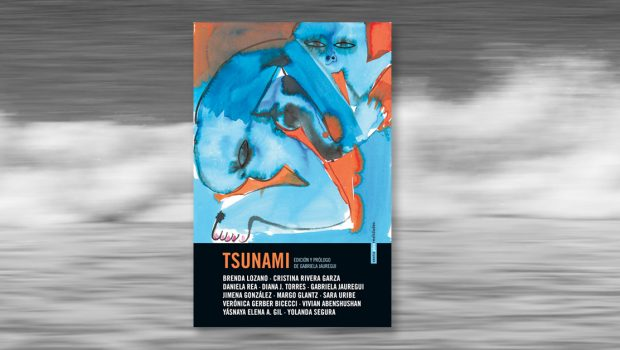 Mujeres que levantan olas que se convierten en tsunamis