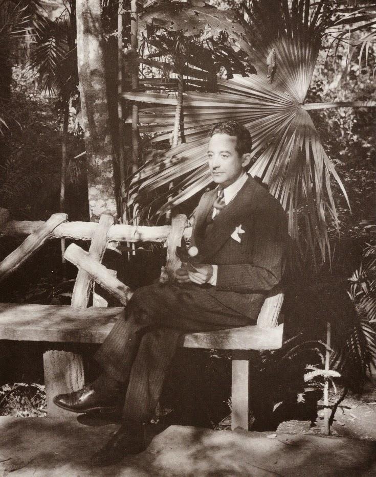 Xavier Villaurrutia (1942), fotografía de Lola Álvarez  Bravo